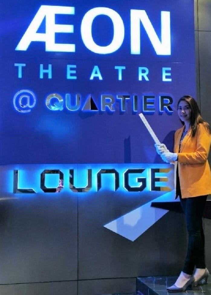 กิจกรรม Trandar heplar Movie night ที่โรงภาพยนตร์ AEON Theatre @ Quartier CineArt