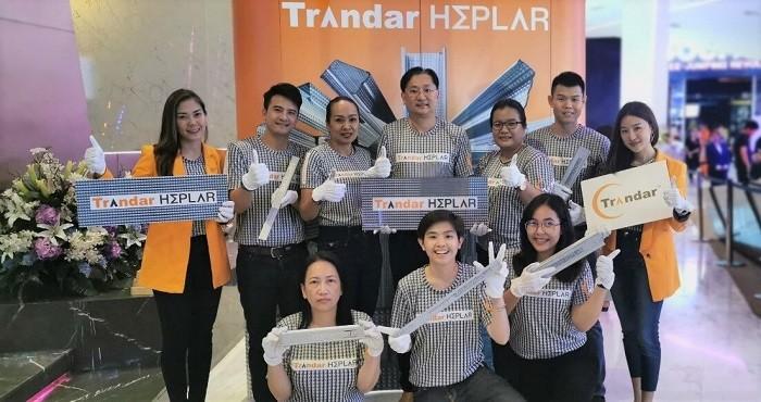 แทรนดาร์ อะคูสติกปฏิวัติวงการระบบผนังเบาครั้งยิ่งใหญ่ เปิดตัวโครงคร่าว Trandar Heplar