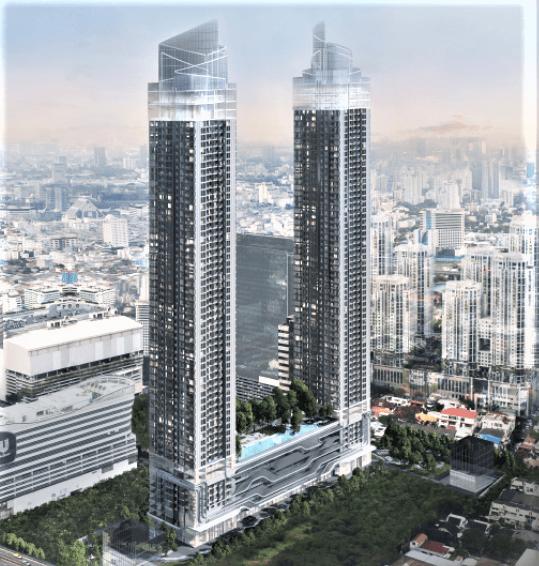 One9Five อโศก-พระราม 9 คอนโดตึกสูงคู่แฝด ติดถนนพระราม 9 สวยโดดเด่นจนคุณอยากเป็นเจ้าของ