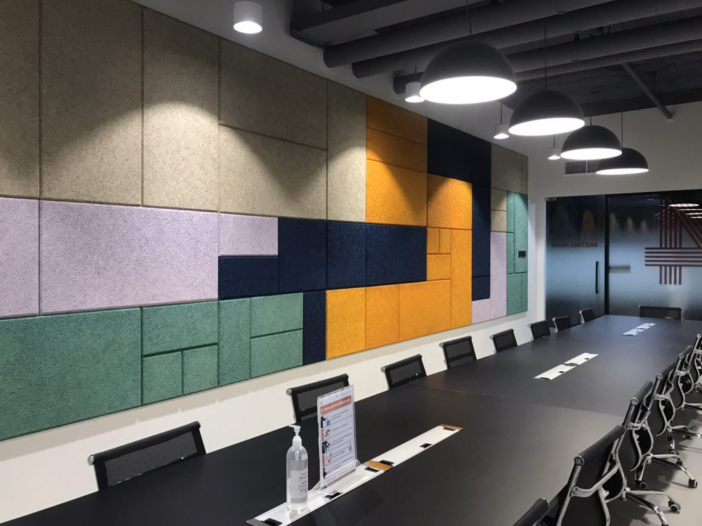 Trandar Heradesign อะคูสติกตกแต่งที่จะเปลี่ยนบรรยากาศห้องประชุมของคุณให้ดูไม่น่าเบื่ออีกต่อไป