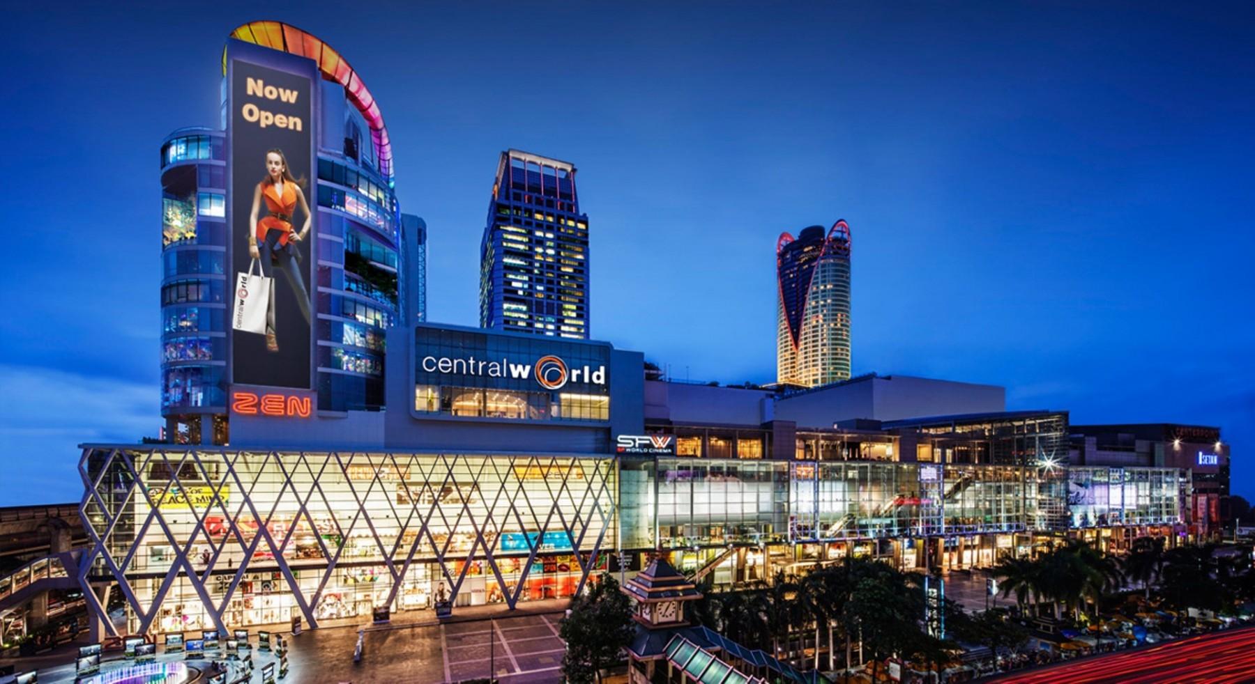 Central world แหล่ง shopping ใจกลางเมือง โลเคชั่นโปรดของใครหลายๆคน
