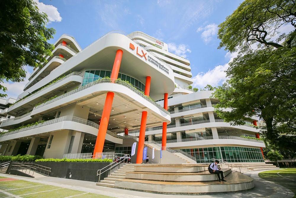 อาคาร Learning Exchange (LX) มหาวิทยาลัยเทคโนโลยีพระจอมเกล้าธนบุรี ที่สุดแห่งเทคโนโลยีแห่งการเรียนรู้